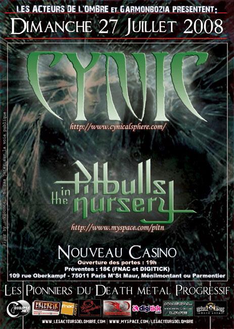 Cynic @ Paris